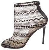 Christian Louboutin Mesh Ankle Boots