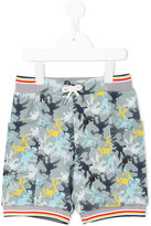 No Added Sugar printed drawstring shorts - kids - Cotton/Spandex/Elastane - 4 yrs