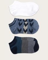 Frye No Show Socks Three-Pack - Women's