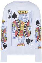 Stella McCartney playing cards print long t-shirt