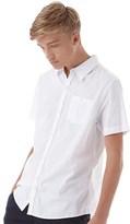 Bellfield Mens Boavista Overdyed Shirt White