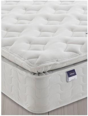 Silentnight Miracoil Sprung Pippa Memory Pillowtop Mattress - Medium/Firm