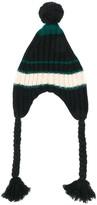 Marni knitted pom pom hat