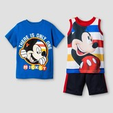 Disney Toddler Boys' Mickey Mouse Top And Bottom Set