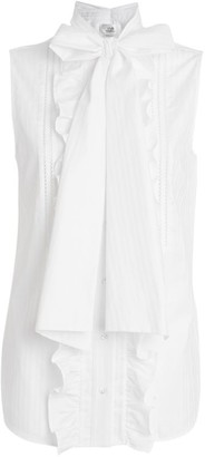 Victoria Victoria Beckham Bow-Detail Sleeveless Shirt