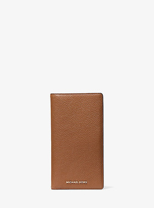 Michael Kors Bedford Legacy Large Pebbled Leather Travel Wallet