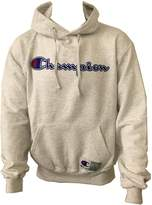 Champion Men???s Retro Graphic Pullover Hoodie 2XL Blue