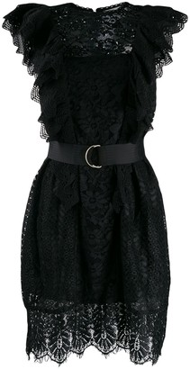 Essentiel Antwerp Vamos lace embroidered dress