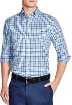 Vineyard Vines Tucker Heathered Gingham Slim Fit Button Down Shirt