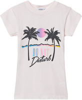 Wildfox Couture Pink Do No Disturb Print Tee