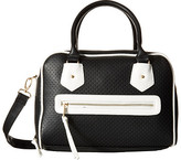 Gabriella Rocha Mia Perforated Color Block Satchel