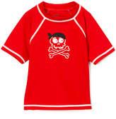 Nano Red & White Pirate Rashguard - Infant & Boys