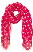 Vivienne Westwood Women's Mantero Wool Scarf Red
