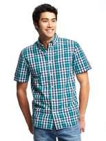 Old Navy Slim-Fit Plaid Shirt for Men