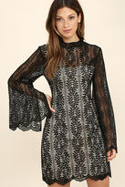 Keepsake Uptown Black Lace Dress