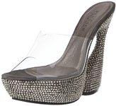 Pleaser USA Women's Swan-601DM/C Platform Sandal