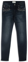 Hudson Girls' Studded Skinny Jeans - Sizes 7-16