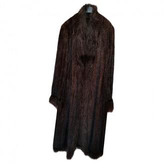 Sylvie Schimmel Brown Mink Coat for Women