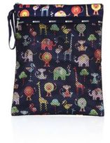 Le Sport Sac Zoo Cute Wet & Dry Pouch