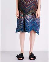 Issey Miyake Iris pleated skirt