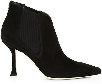 Jimmy Choo Maiara Suede Ankle Boots