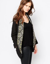 Traffic People Baggers Jacket With Jacquard Lapels