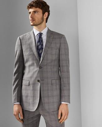 Ted Baker Debonair Check Wool Jacket