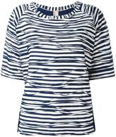 Antonio Marras striped T-shirt - women - Cotton/Polyester/Viscose - 40