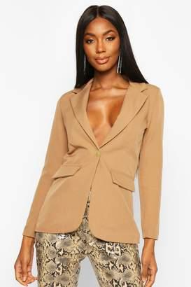boohoo Single Breasted Tailored Blazer