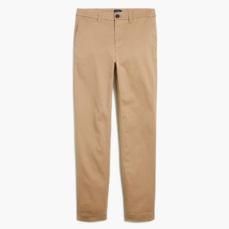 J.Crew Petite high-rise girlfriend chino pant