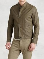 John Varvatos Slim Fit Moto Jacket