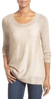 Eileen Fisher Scoop Neck Sweater (Regular & Petite)