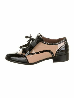 Tabitha Simmons Patent Leather Colorblock Pattern Oxfords w/ Tags