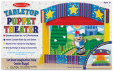 Melissa & Doug Kids' Tabletop Puppet Theater