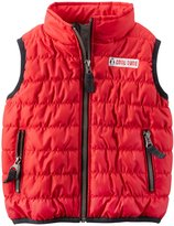 Carter's Holiday Vest (Baby)-Red-6 Months