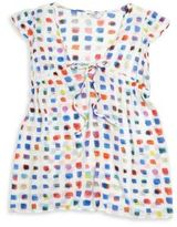 Milly Minis Girl's Pixel Print Cover-Up