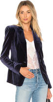 Nicholas Velvet Blazer in Navy. - size 0 (also in 2)