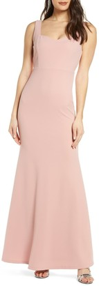 Lulus Sweetest Thing Trumpet Maxi Dress