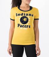 New Era Women's Indiana Pacers NBA Vintage Ringer T-Shirt