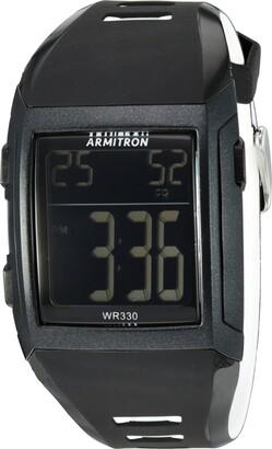 Armitron Sport Men's 40/8261BLK Digital Chronograph Black Resin Strap Watch
