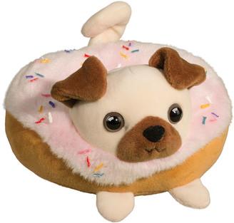Douglas Pug Donut Macaroon Plush Toy
