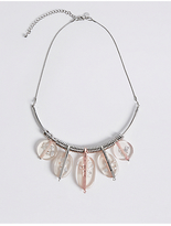M&S Collection Resin Chip Torque Necklace