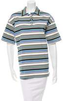 Opening Ceremony Striped Denim Boxy Top w/ Tags