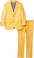 Isaac Mizrahi Two Piece Suit (Toddler, Little Boys, & Big Boys)