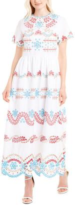 Beulah Eyelet Maxi Dress