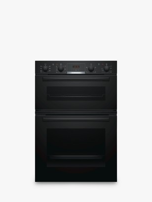 Bosch Serie 4 MBS533BB0B Built-In Double Oven, Black