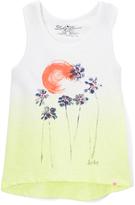 Lucky Brand Bright White Sunset Tank - Toddler & Girls