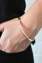 House Of Harlow Rose Gold Thin Stack Bangle