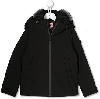AI Riders On The Storm Short Hooded Jacket