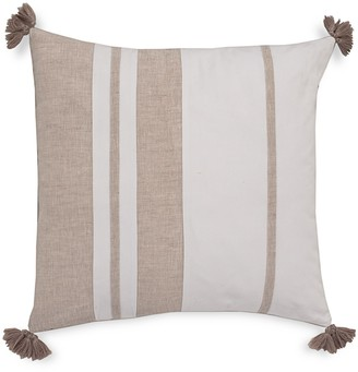 Southern Tide Sandbar Stripe Tassel Decorative Pillow